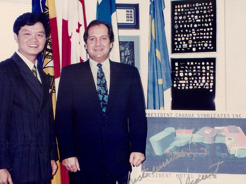 1992年6月10日李安邦赴渥太華參加移民法修訂法案聽證會